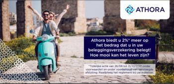 Tijdelijke taksactie bij Athora van nu tot 31 oktober 2021